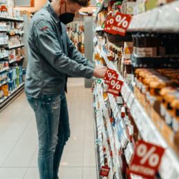 Frühschicht im Supermarkt