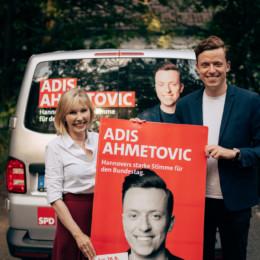 Doris Schröder-Köpf und Adis Ahmetovic