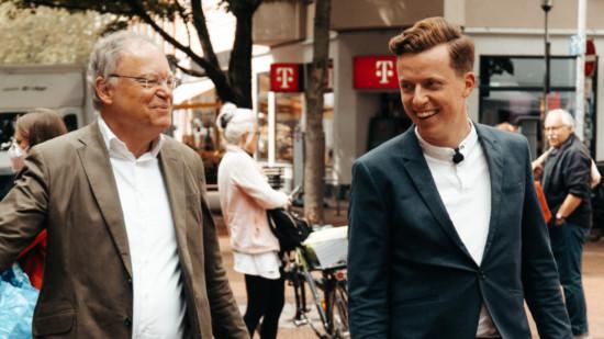 MP Stephan Weil und BT Adis Ahmetovic