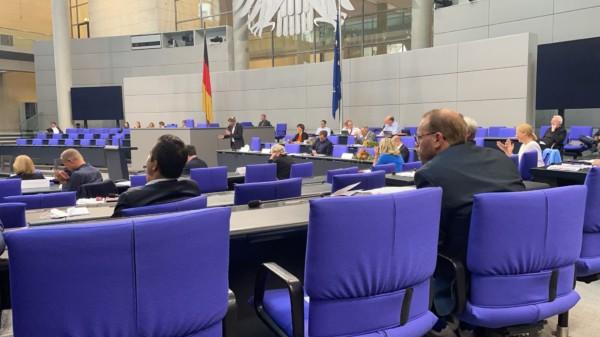 Erste SPD-Fraktionssitzung nach der Bundestagswahl